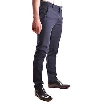 At.p.co Ezbc043053 Men's Blue Cotton Pants