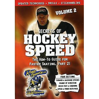 Vol. 2-Secrets of Hockey Speed [DVD] USA import