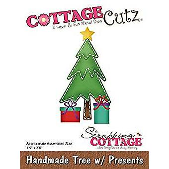 Scrapping Cottage Handmade Tree with Presents