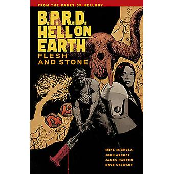 B.P.R.D Hell on Earth Vol. 11 - Flesh and Stone by Mike Mignola - 9781