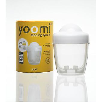 Yoomi Fütterungssystem Pod, die perfekte Milchtemperatur in 60 Sekunden