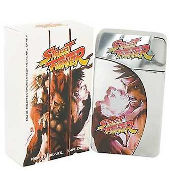 Straat vechter door Capcom Eau de Toilette Spray 3,4 oz (mannen) V728-482881