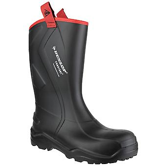 Dunlop Mens Purofort+ Rugged Full Safety Wellingtons