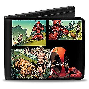Wallet - Marvel - V.10 Bi-Fold Toys New Licensed puw-dpe
