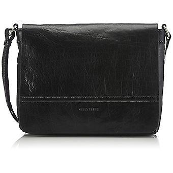 Gerry Weber Lugano Flap Bag Black Women's Shoulder Bag (Black 900) 29x22x77 cm (B x H x T)