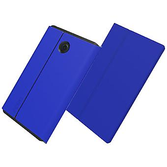 Incipio Faraday Magnetic Closure Folio Case for Verizon Ellipsis Kids, Ellipsis 8 - Dark Blue