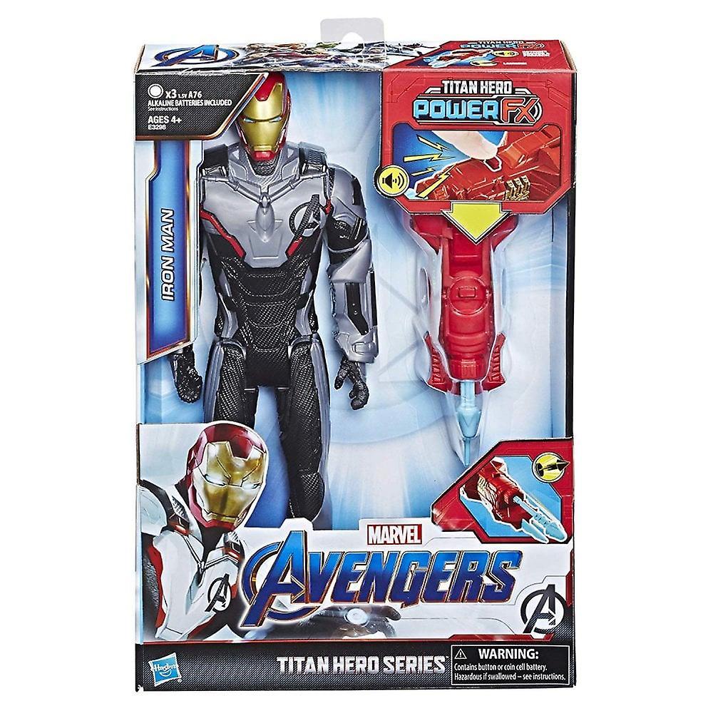 Marvel Avengers Iron Man Endgame Titan Hero Power FX 12 tums Action figur