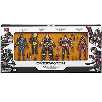 Overwatch, Action figures-Genji, Zarya, Pharah, D.Va