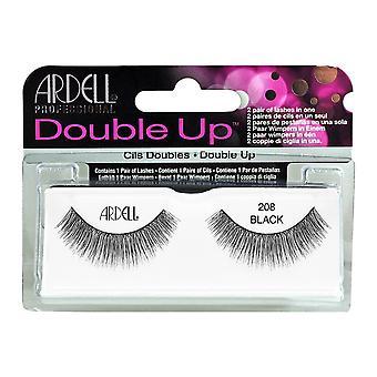 Ardell Double Up False Eyelashes Black 208