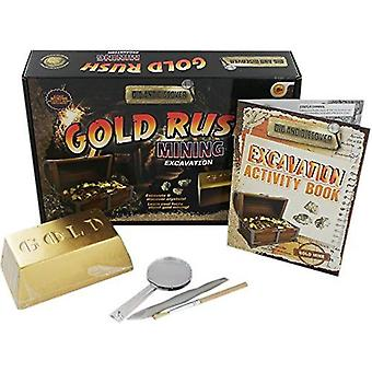 Grafix Dig and Discover - Gold Rush Mining Excavation Kit