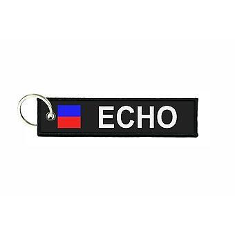 Dørkapper kaster flag kodesignaler signal maritime alfabet E ECHO