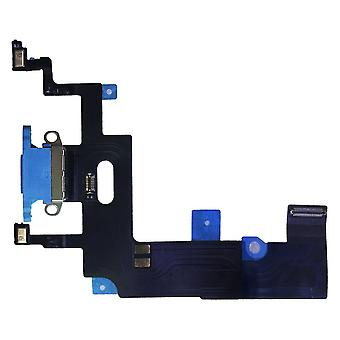 Dock Charger Charging Jack for Apple iPhone XR 6.1 Inch Blue Spare Part Replacement Repair Accessories