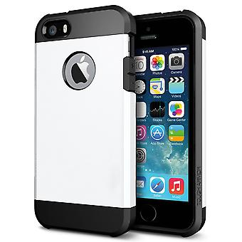 Iphone 7/8 4.7 tough armor shell protection case white