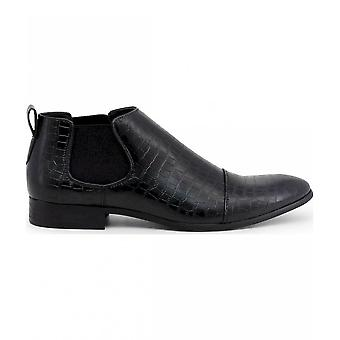 Duca di Morrone - Chaussures - Bottes de cheville - JONES-BLACK - Hommes - Schwartz - 46