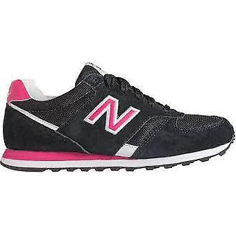 New balance women's wl554smk trainers black pink
