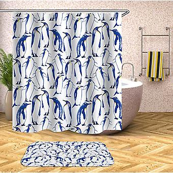 Pattern Of Penguin Shower Curtain