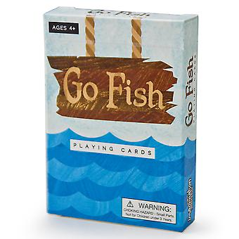 Go Fish Illustrated Card Game