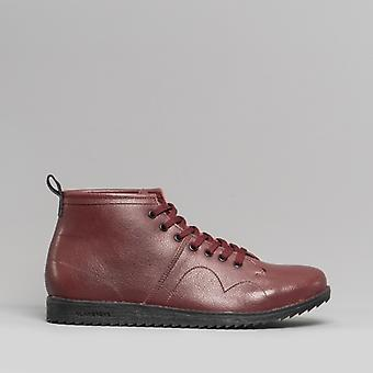 Blakeseys 1960 Unisex Leather Monkey Boots Bordo