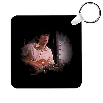 TV Times Keith Richards Les Paul Rolling Stones Key Ring