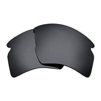 Replacement Lenses for Oakley Flak 2.0 XL Sunglasses Black Iridium Anti-Scratch Anti-Glare UV400 by SeekOptics
