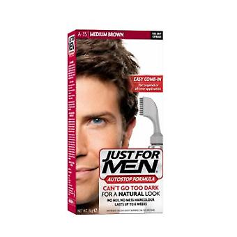 Just for men auto stop haarkleur-A35 medium bruin