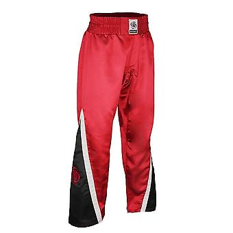 Bytomic adult team kickboxing pant red