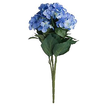 Hill Interiors Artificial Blue Hydrangea Bouquet