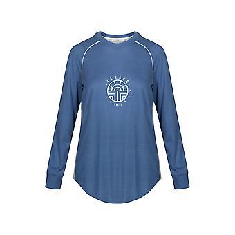Feraud 3191151-10092 Women's Casual Chic Indigo Blue Cotton Loungewear Top