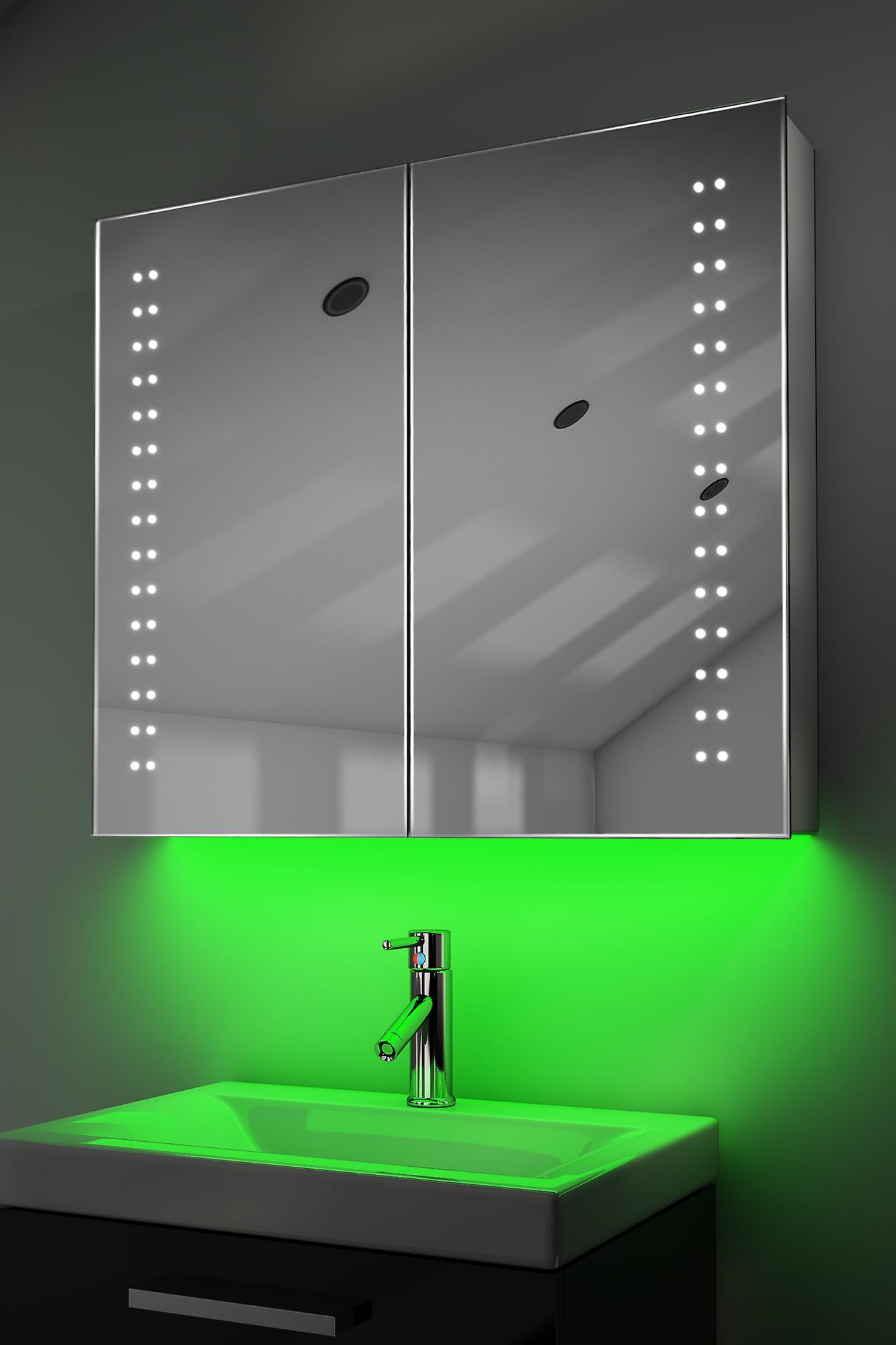 Demist Cabinet With RGB , Sensor & Internal Shaver k364rgb