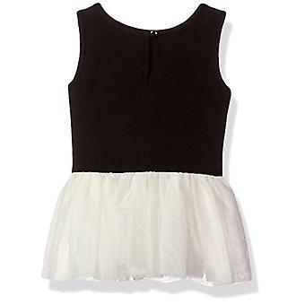 PIPPA & JULIE Baby Girls Două Topuri și o legging 3-Piece Outfit Set, Ivory / Gre ...