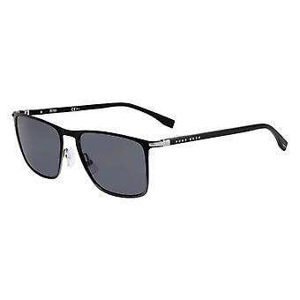 Hugo Boss 1004/S O6W/IR Blue Ruthenium-Dark Grey/Grey Sunglasses