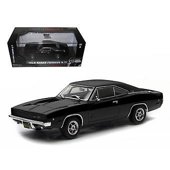 1968 Dodge Charger Black R/T Steve McQueen -BullittMD Movie (1968) 1/43 Diecast Model Car par Greenlight