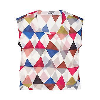 Bunte senkeinige Lacoste Damen T-shirt