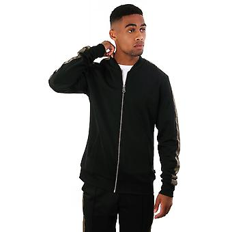 Les Deux Hermite Full Zip Track Jacket With Contrast Stripe