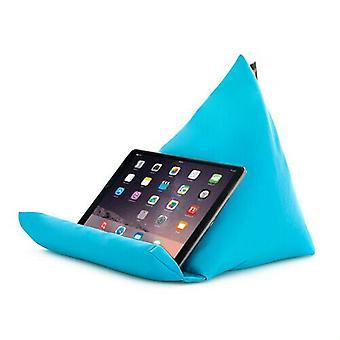 Turkoosi Tablet Book Rest tyyny papu laukku tyyny teline iPad Kindle Seat Garden