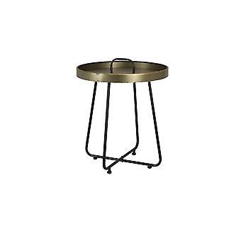 Light & Living Table 45x49.5cm Farso Tin Bronze