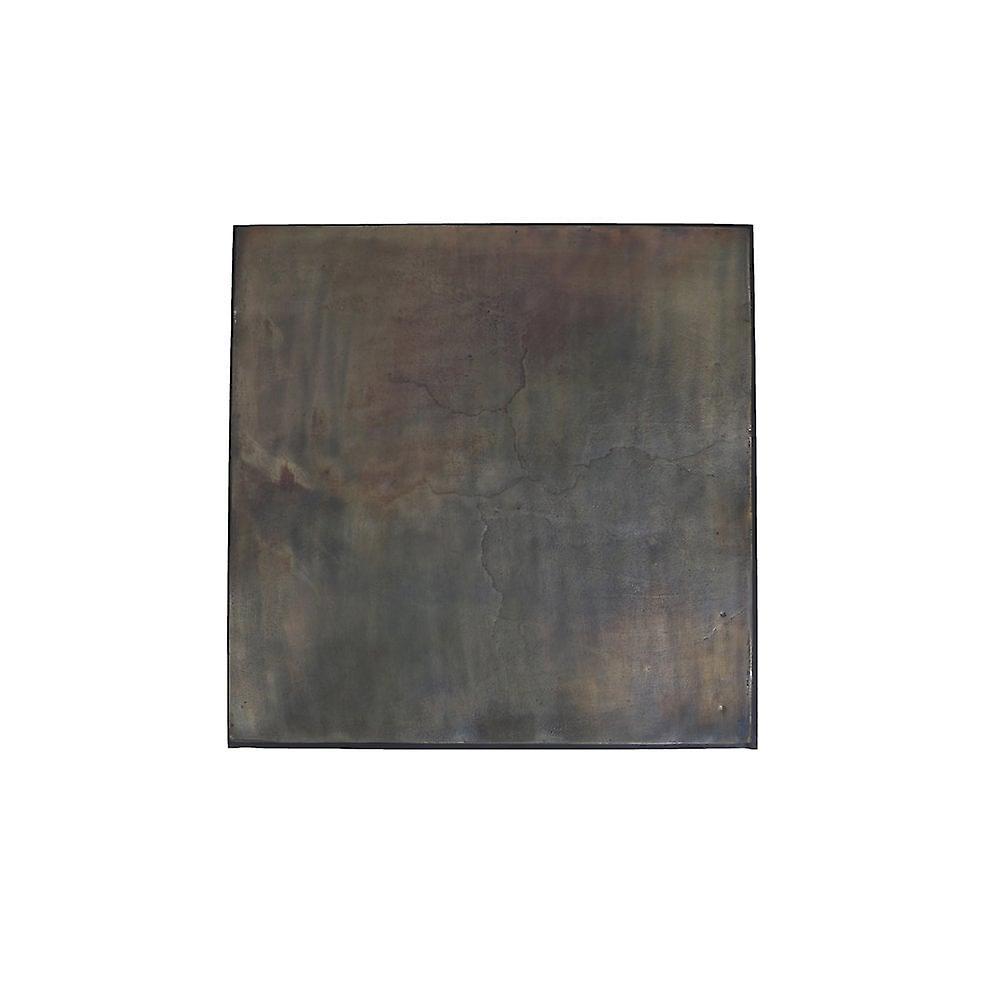 Ensemble de table latérale léger et vivant de 2 33x33x49 et 39x39x55cm Calera Antiq Oil Bronze