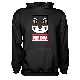 Herre Sweatshirts Hættetrøje- MEOW
