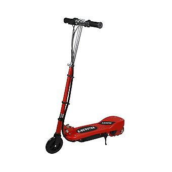 RideonToys4u 24V Electric Folding Scooter 5.5 Inch Wheels Red Ages 14 Years+