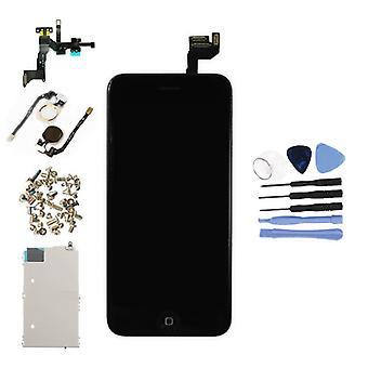 الاشياء المعتمدة® اي فون 6S 4.7 & نقلا عن العرض قبل تجميعها (شاشة تعمل باللمس + LCD + أجزاء) AA + جودة - أسود + أدوات