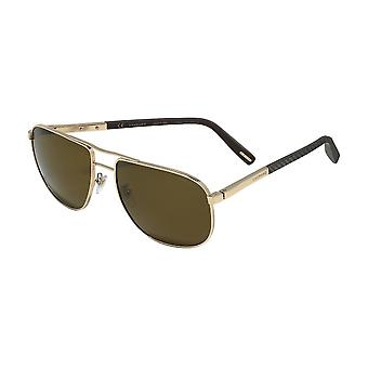 Chopard SCHC92 300P Shiny Rose Gold/Polarised Brown Sunglasses
