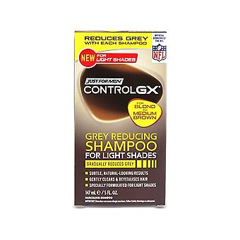 Just For Men 3 X Just For Men Control GX Grey Reducing Shampoo For Light Shades