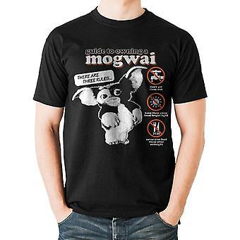 Gremlins Unisex Adults Mogwai Guide Design T-Shirt