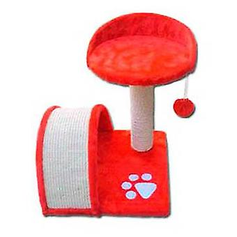 Nayeco Scraper Savanna Mountain Cat (red) (Cats , Toys , Scratching Posts)