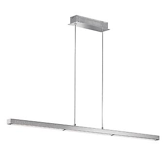 WOFI Levi Led Dimmable Linear Ceiling Light In Chrome Finish 6402.01.01.7000
