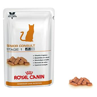 Royal Canin Senior Consult Stage 1 Feline (Cats , Cat Food , Wet Food , Veterinary diet)