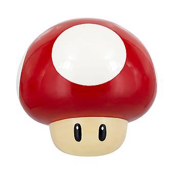 Super Fungo Cookie Jar Super Mario Ufficiale Nintendo Novelty Biscotto Storage