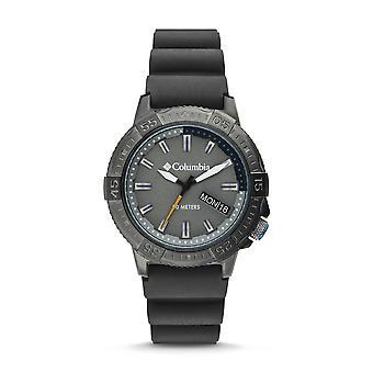 Columbia CSC03-003 Mens Peak Patrol Grey Silicone Wristwatch