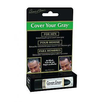 Irene Gari Cover Your Gray  Mens Cover Up  Stick – Black
