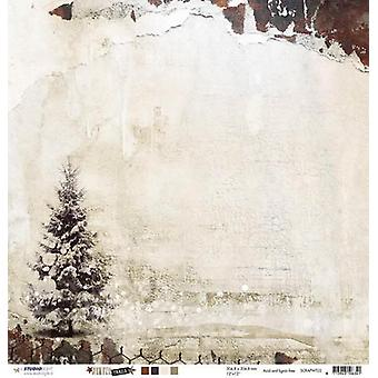 Studio Light Scrapbook paper 10 sh 30.5x30.5 Winter Trails nr 02 SCRAPWT02